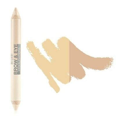 MILANI Brow & Eye Highlighters - Matte Beige / High Glow