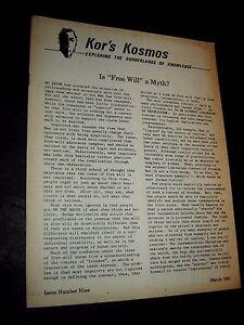 KOR-039-S-KOSMOS-vol-1-9-1981-UFO-UFO-039-S-FLYING-SAUCERS-Newsletter