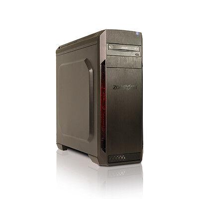Zoostorm AMD Ryzen 1400 Quad Core PC, 8GB, 1TB, GTX 1050, DVDRW, WiFi, Win 10