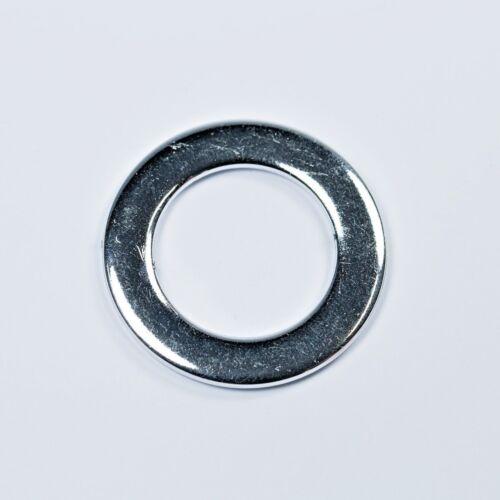 30 mm ronde argent métallisé fashion plates O Bead anneaux en plastique-Robes Sacs