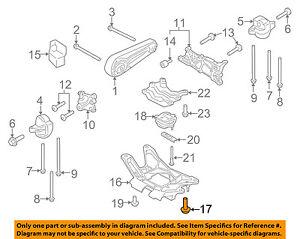 image is loading porsche-oem-engine-motor-transmission-transmission -cross-member-