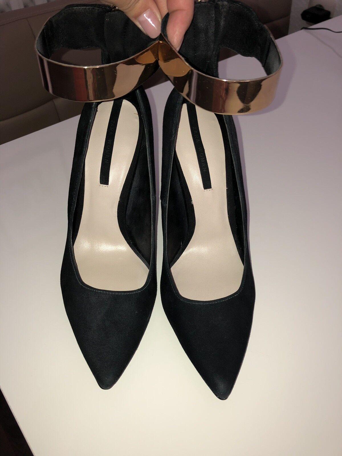 Zara Pumps, High Heel, Grösse 39