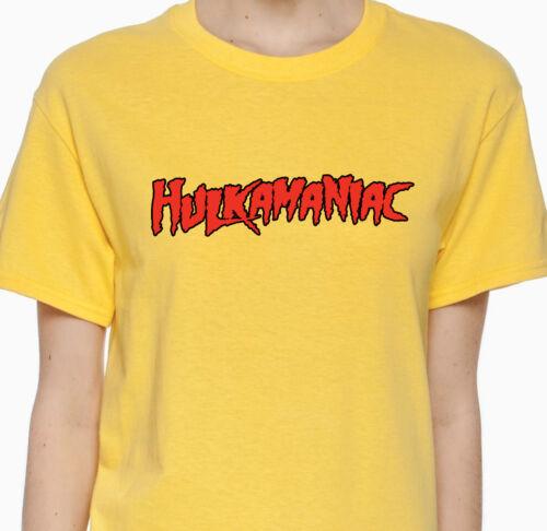 Hulkamaniac Hulk Hogan Hollywood NWO WCW WWE WWF Hulkamania Funny Shirt