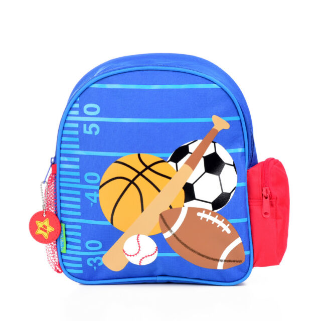 0b8a0fbaae28 Buy Stephen Joseph Mini Sidekicks Backpack Sports Blue online