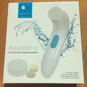 Sonic-Tool-Works-Aquasonic-Dermal-tool-Total-Spa-Body-Cleansing-System-Sealed