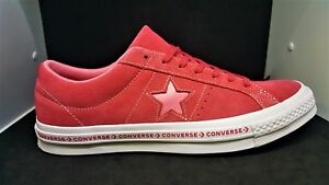 9347031ecdf Converse One Star OX Pinstripe Low Paradise Pink Mens sz 9.5 159815C ...