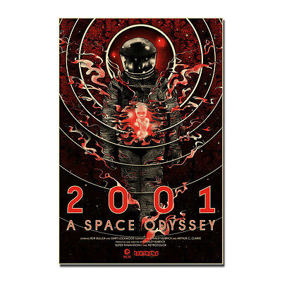 2001 A Space Odyssey Movie Art Silk Poster 24x36inch