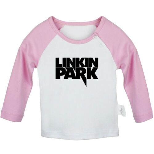 Linkin Park Newborn Baby Girls Boys T-shirt Infant Clothes Toddler Graphic Tee