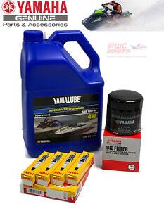 YAMAHA OEM Oil Change Kit GP1800 GP1800R FX-SVHO NGK LFR7A LUB-WTRCG-KT-10