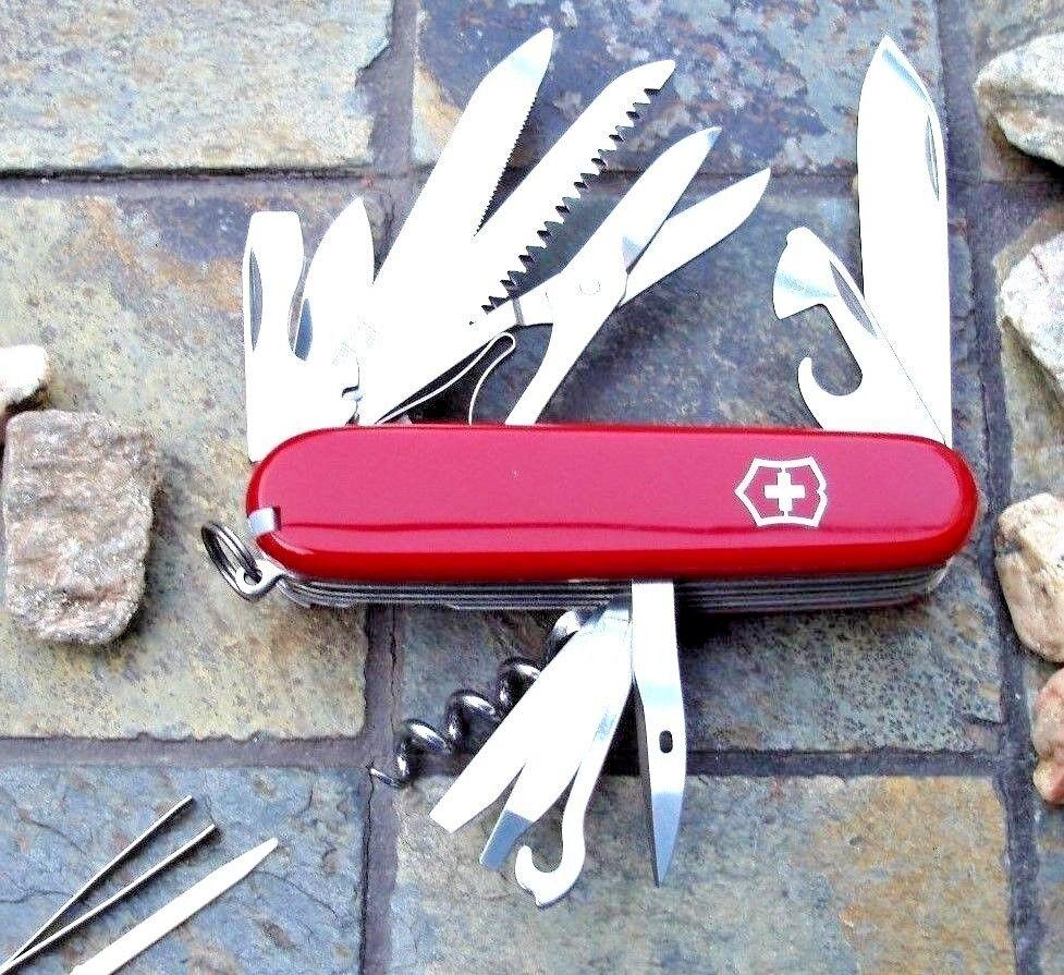 Victorinox RANGER Red Original Swiss Army Knife 53861 NEW  Authorized Dealer