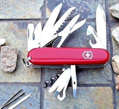 Victorinox Ranger Red Original Swiss Army Knife 53861 New