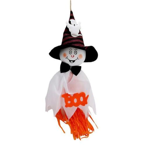 Hanging Ghost Scarecrow Garland Prop Pendant Halloween Party Funny Decor SS