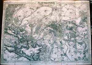 Antique-map-Paris-Plan-von-Paris