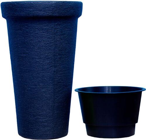 Fiori vaso fioriera CLASSIC TOWER ø30cm-48cm Teracota Antracite Lemon DPC