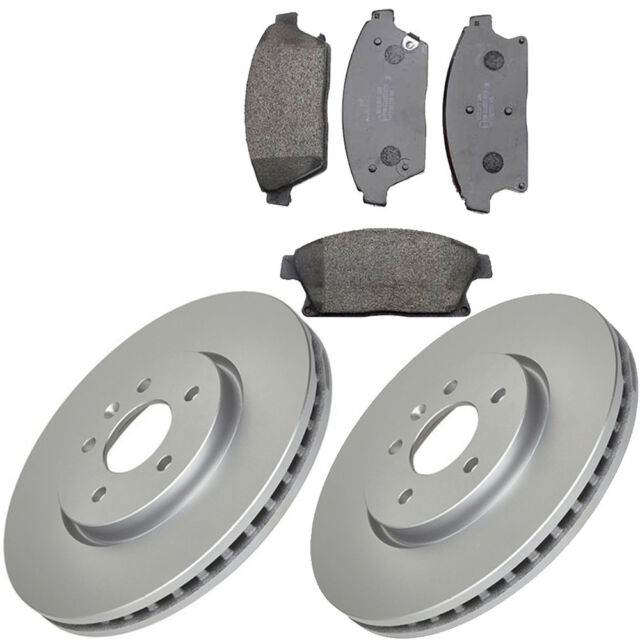 VAUXHALL ASTRA J MK6 1.4 1.6 2009-2014 FRONT 2 BRAKE DISCS & PADS (276mm SIZE)
