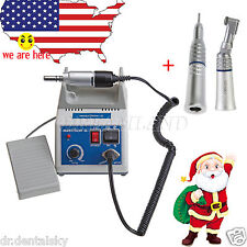 Marathon Micromotor Dental Drill Polishing Contra angle Straight Handpiece SCEJ