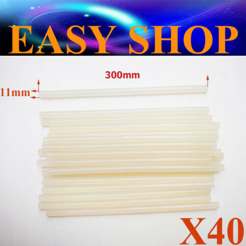 40X 11mm 300mm Hot Gun Melt Glue Stick Scrapbooking Kids Art Craft DIY School