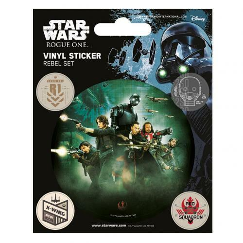 Star wars rogue one stickers rebel stocking filler parti pags