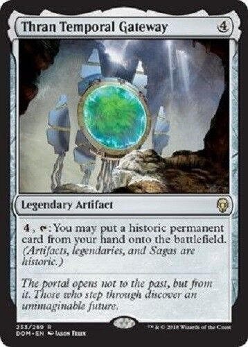 Thran Temporal Gateway RARE Dominaria MTG Magic The Gathering