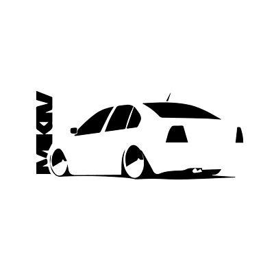 Vw Mkiv Jetta Sticker Euro Jdm Stance Volkswagen Vinyl
