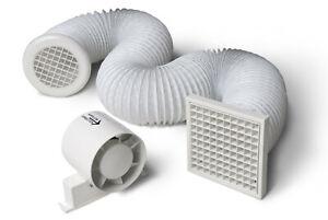Manrose-inline-shower-fan-kit-bathroom-kitchen-extract-fan-flex-grille-vent