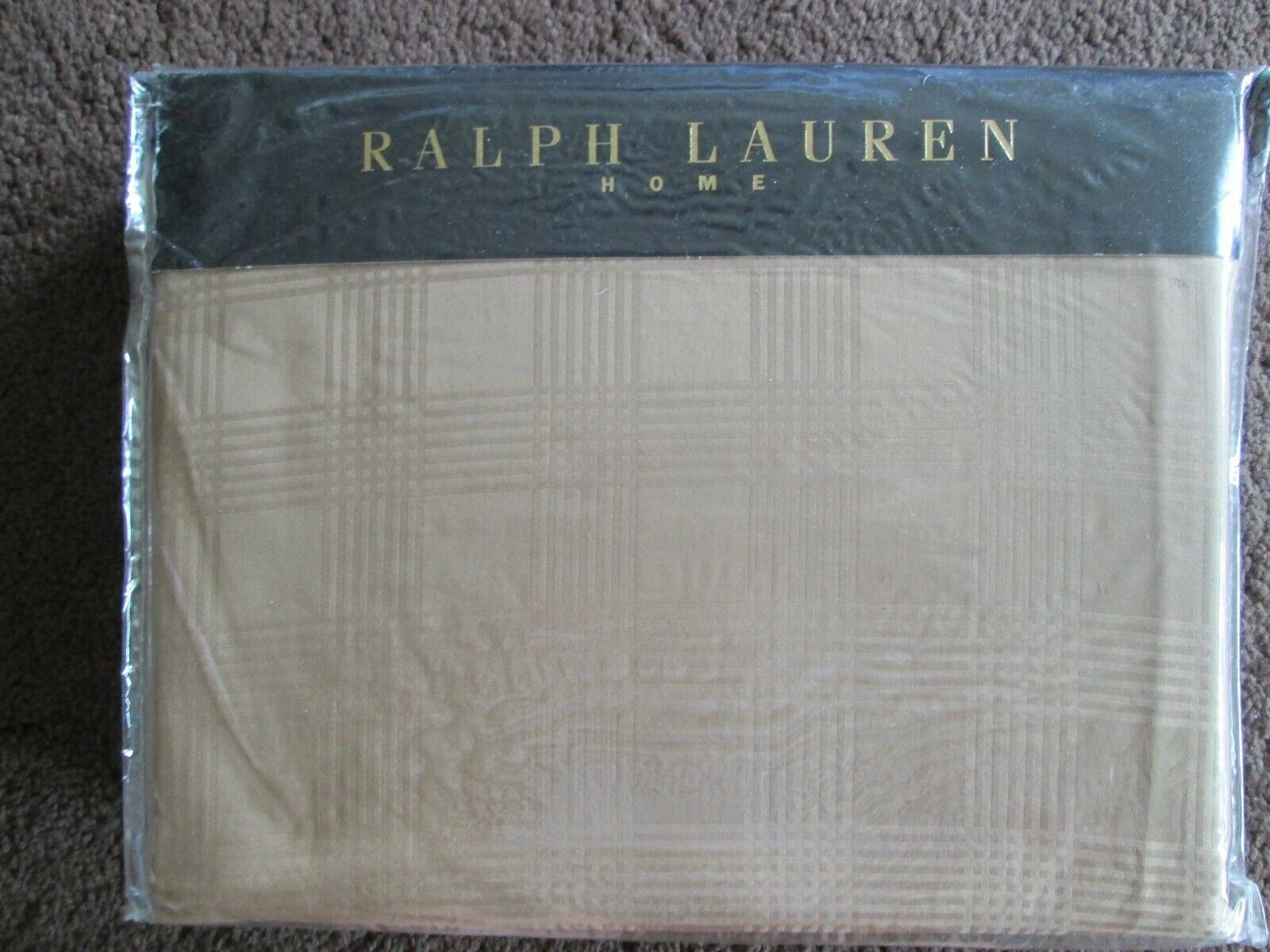 RALPH LAUREN SUPER KING DUVET SET IN LAUREN SUITE GLENPLAID DESIGN