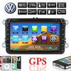 8'' 2Din For VW Autoradio Car Stereo DVD Player Headunit Bluetooth Ipod GPS TV
