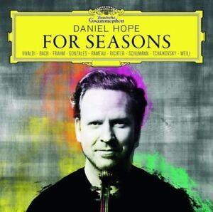 DANIEL-HOPE-For-Seasons-CD-NEW-Vivaldi-Bach-Frahm-Gonzales-Rameau-Richter-Weill