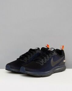 5f4c779018309 Details about Nike Air Zoom Pegasus 34 Shield Size 10.5 Running Shoes Black  Obsidian
