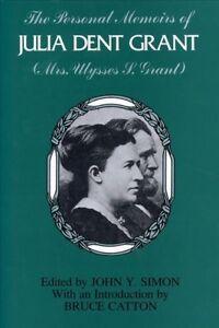 Personal-Memoirs-of-Julia-Dent-Grant-Paperback-by-Simon-John-Y-EDT-Bran