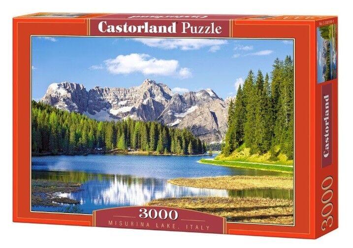 Castorland puzzle aufgestellt (tre cime di lavaroto 3000 - see in italien