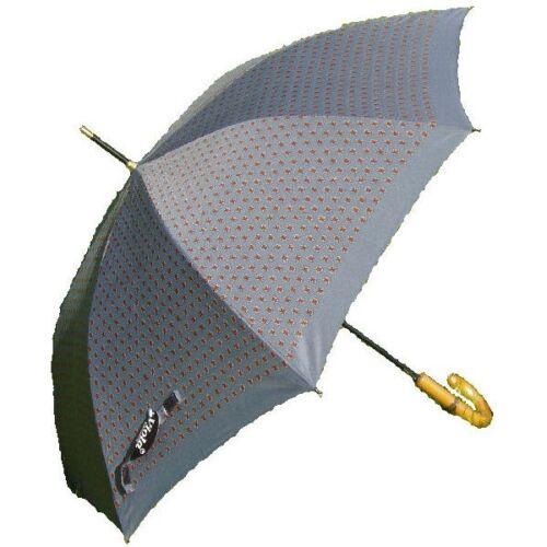 Viola Mens Designer Butterfly Auto Stick Umbrella