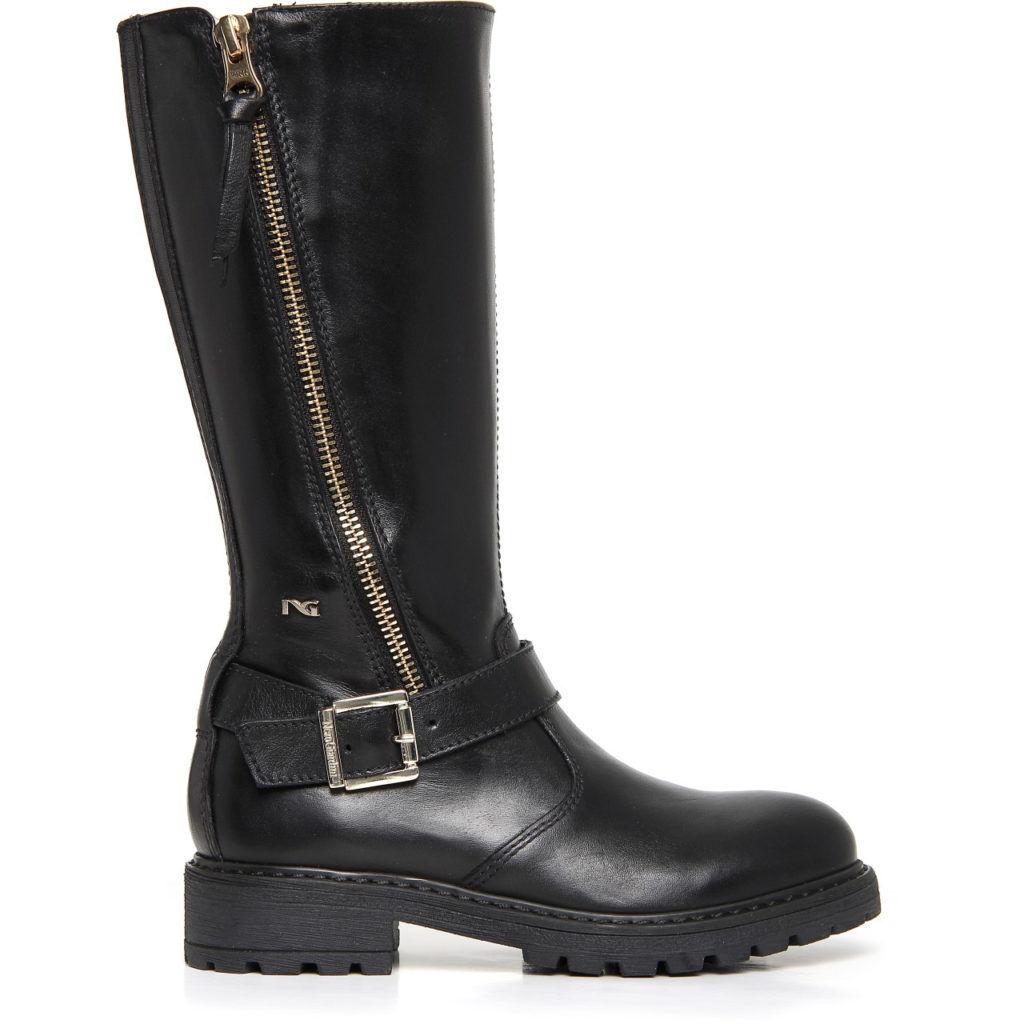 NERO GIARDINI stivaletti A732773F TEEN scarpe donna stivaletti GIARDINI stivali anfibi tronchetti 0da6e9