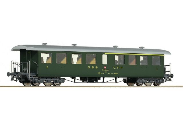 NEU OVP KC1 µ* SBB Bcm 61 85 50 90 103 6 2te Klasse Roco 45306 H0 1:87 L:1//100
