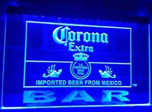 Budweiser Open LED Neon Bar Sign Home Light up Pub Bud Beer Lager mancave drink