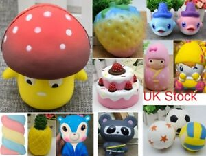 UK-Stock-New-Jumbo-Cute-Lovely-Slow-Rising-Scented-New-Craze-Squishy-Toy-Charms