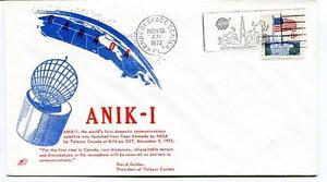 1972 Anik-1 First Domestic Satellite Cape Kennedy Space Center Golden Usa Nasa