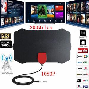 1080P-4K-antenne-TV-numerique-interieure-TNT-HDTV-antenne-200-Mile-Range
