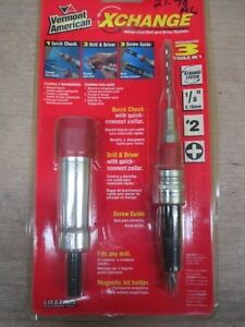 Vermont American 16520 X-Change Drill and Drive System Set (LL0965)