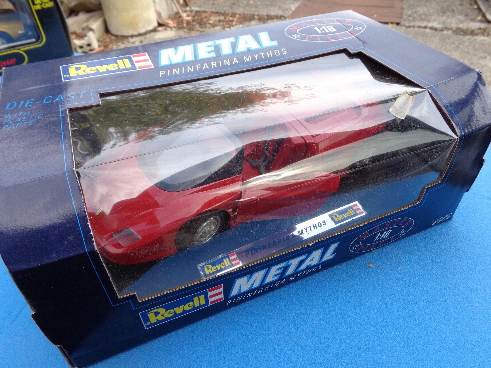 Revell 1 18 1984 Réf. 8806  Rare  Pininfarina Mythos Cabriolet Rouge