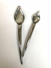 ZEROLL COMMERCIAL PLATE DECORATION DECO SPOON / 1 SMALL & 1 LARGE SPOON 6100-SS