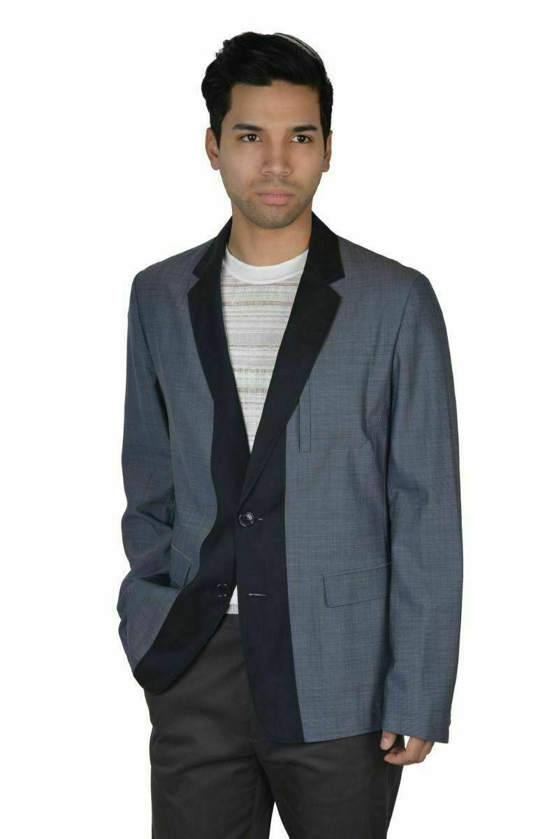 Kleidung & Accessoires Anzüge Nwt Sartore Marineblau Mikro-karomuster Doppel Mit Brust Wollanzug