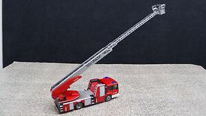 Wiking-H0-062704-MB-Econic-Feuerwehr-Metz-DL-32-NEU-in-OVP