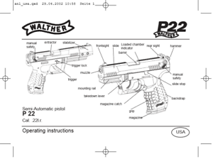 Walther P22 Parts Diagram Wiring Diagram Pass