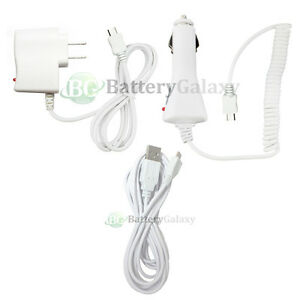 Image Is Loading Usb 10ft Cable Car Wall Ac Charger For