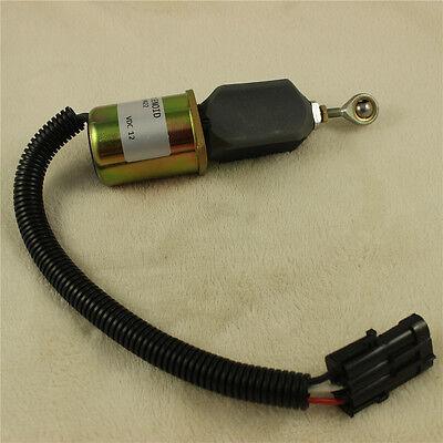 Fuel Shut Off Solenoid For Ford Cummins Diesel 2-1//2 bolt spacing 8.3L//5.9L US