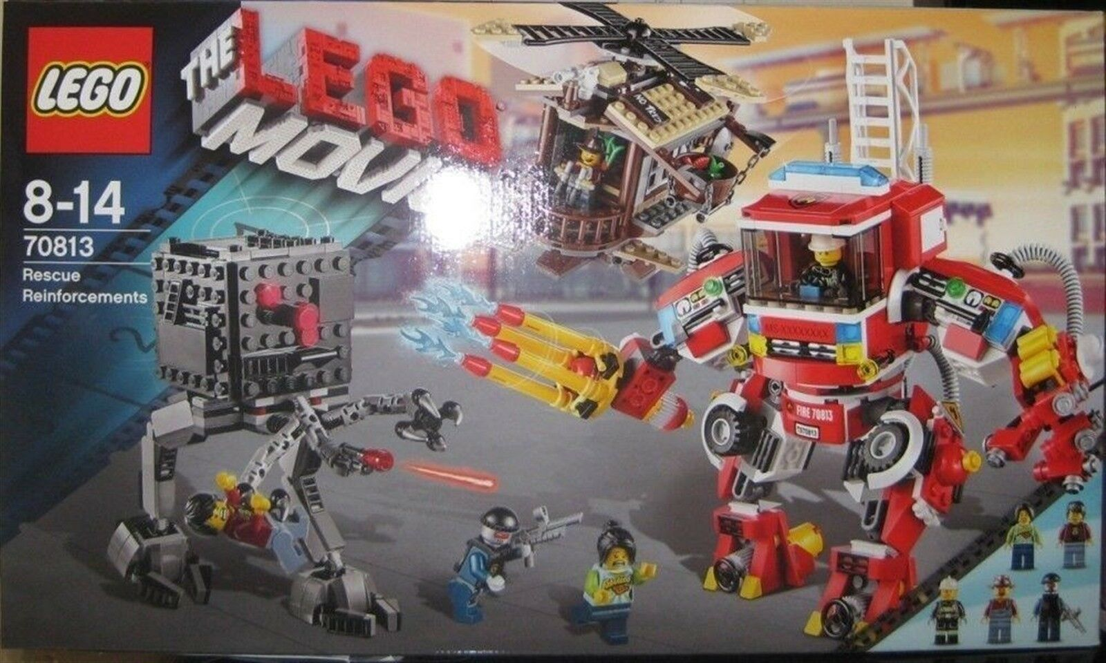 LEGO THE MOVIE RESCUE REINFORCEMENTS  70813 NRFB