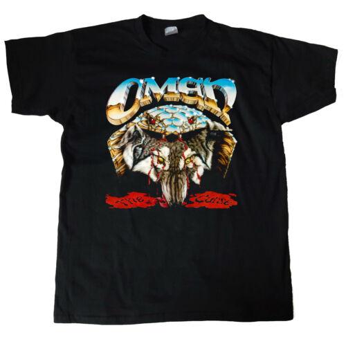 Omen The Curse 1986 Album Cover T-Shirt