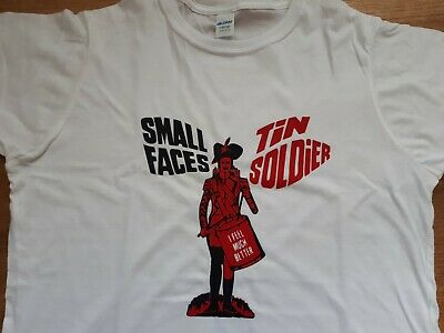 Small Faces T-shirt Vintage Style Mod LP Album Steve Marriott Picture Sleeve CD