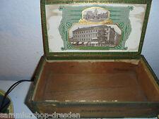 25364  Zigarren Zigarrenkiste box Dresden Minister Hotel Arndt & Hoeg Seestraße